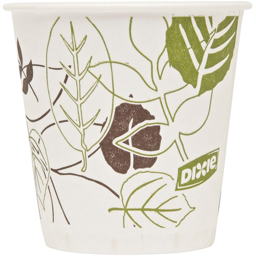 Dixie Wax Treated Cold Paper Cups, 3 oz, 1200 count