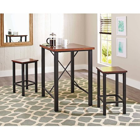Better homes and gardens mercer 3 piece pub set vintage - Better homes and gardens mercer dining table ...