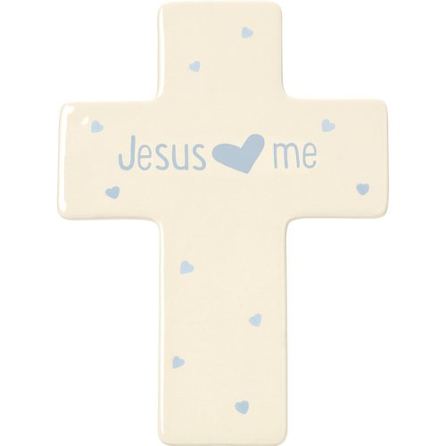 Precious Moments Baby Gifts Jesus Loves Me Ceramic Girl Sculpture by Precious Moments