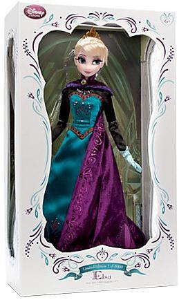 Disney Frozen Elsa Doll by