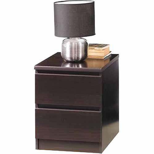 Tvilum Laguna Collection Nightstand, Espresso -Component