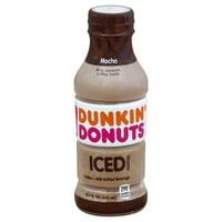 Dunkin' Donuts Mocha Iced Coffee, 13.7 Fl. Oz.