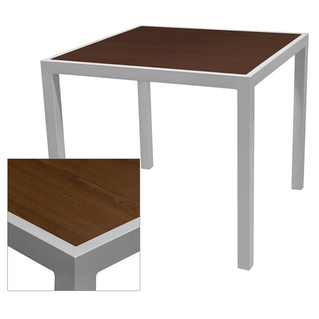 Source Contract SC-1014-402-WEN 24 x 24 in. Corsa Table Top, Wenge