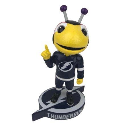 Thunder Bug Tampa Bay Lightning Logo Base Bobblehead NHL