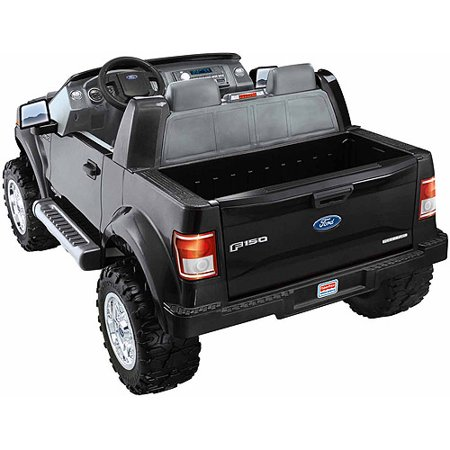 battery powered truck kids 12 volt ride on power wheels fisher price 12 v f150 ebay. Black Bedroom Furniture Sets. Home Design Ideas