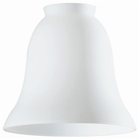 Westinghouse Lighting 2.25'' Ceiling Fan Fitter Bell Shade in White Opal (Set of 5)