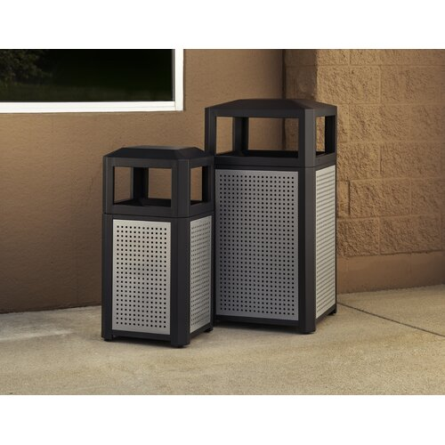 Safco Products Company Evos Series Trash Can