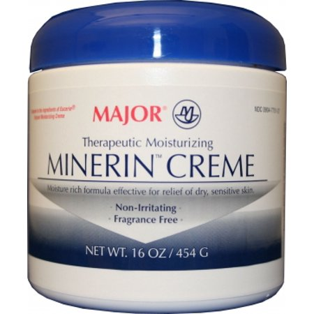 Minerin Moisturizer  16 oz. Jar, Cream, Unscented, 1 - Jar Moisturizer