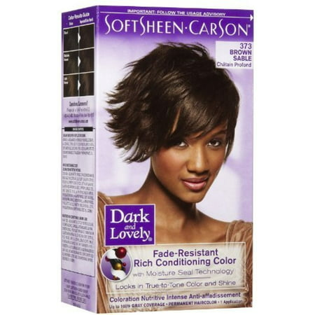 Fade Resistant Rich Conditioning Color, No. 373, Brown Sable, 1