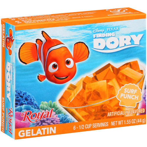 Royal Disney Pixar Finding Dory Surf Punch Gelatin, 1.55 oz