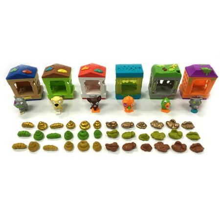 The Ugglys Pet Shop Gross Homes Series 1 Spitten Kitten Mini Figure Pack