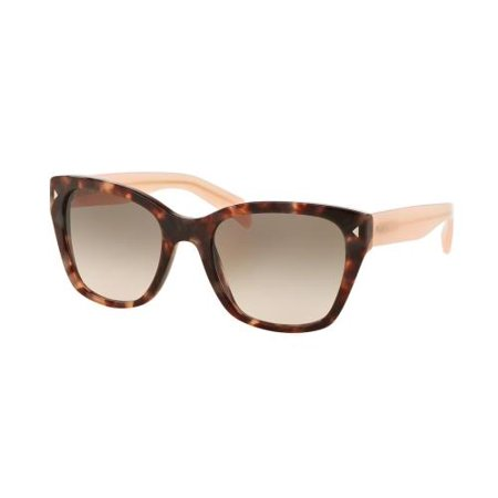 PRADA Sunglasses PR 09SSF UE04K0 Spotted Brown Pink