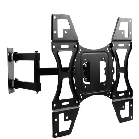 Lumsing Swivel Tilt TV Wall Mount Bracket for 17-55″ TV  LED LCD Plasma Flat Screen up to 88 lbs MAX VESA 400x400mm