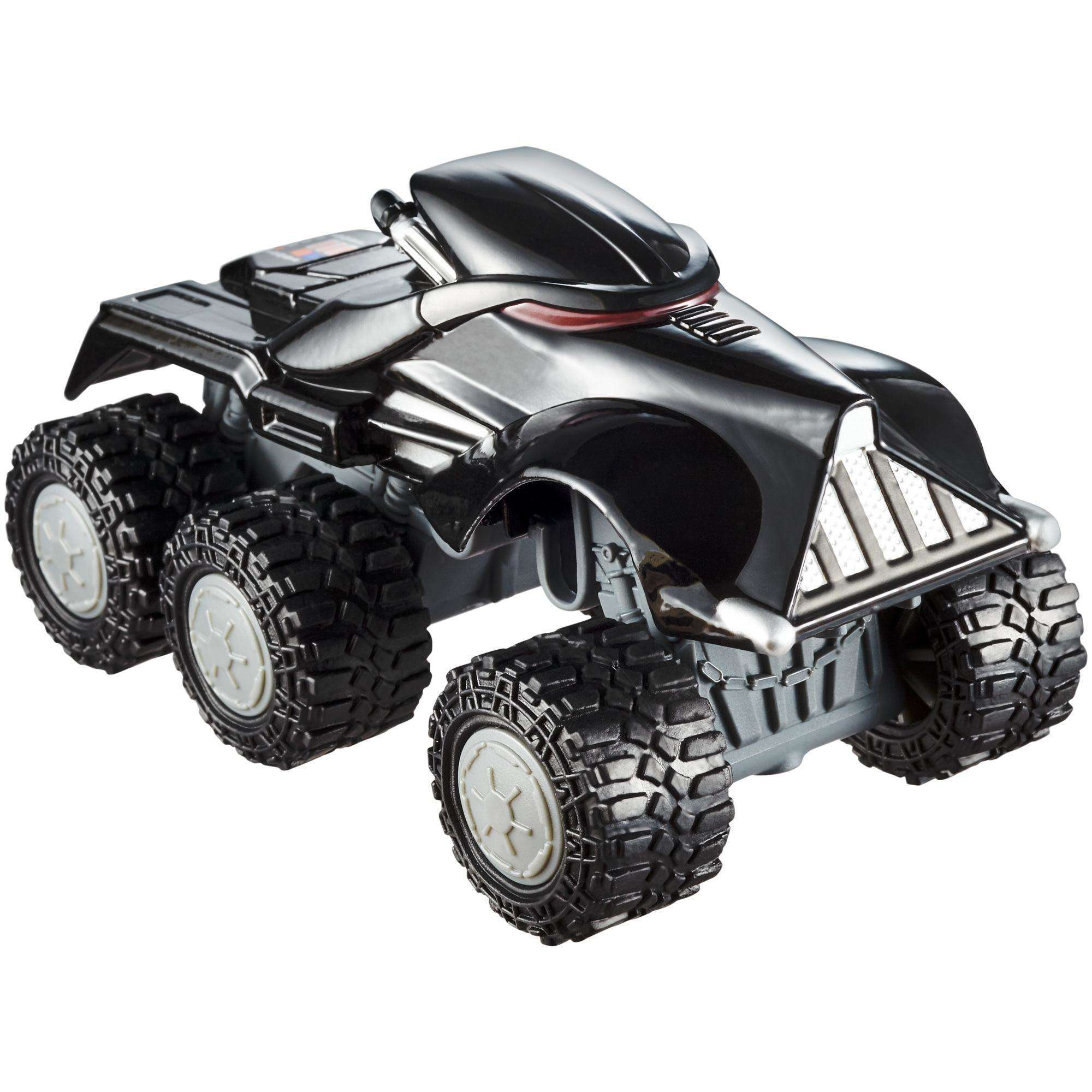 Hot Wheels Star Wars All-Terrain Darth Vader 1:43 Scale Vehicle by Mattel