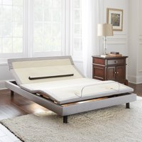 Pure Posture Flex-Adjust Gold Elite Lifestyle Wireless Remote Adjustable Bed Foundation with Massaging and Bluetooth Speaker Capabilities