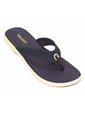 f09169da222a Product Image Tidewater Women s Portland Thong Sandal (Navy Blue Size ...