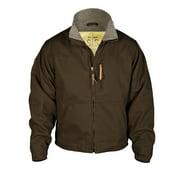 STS Ranchwear Youth Bridger Canvas Jacket Chocolate Sherpa XL