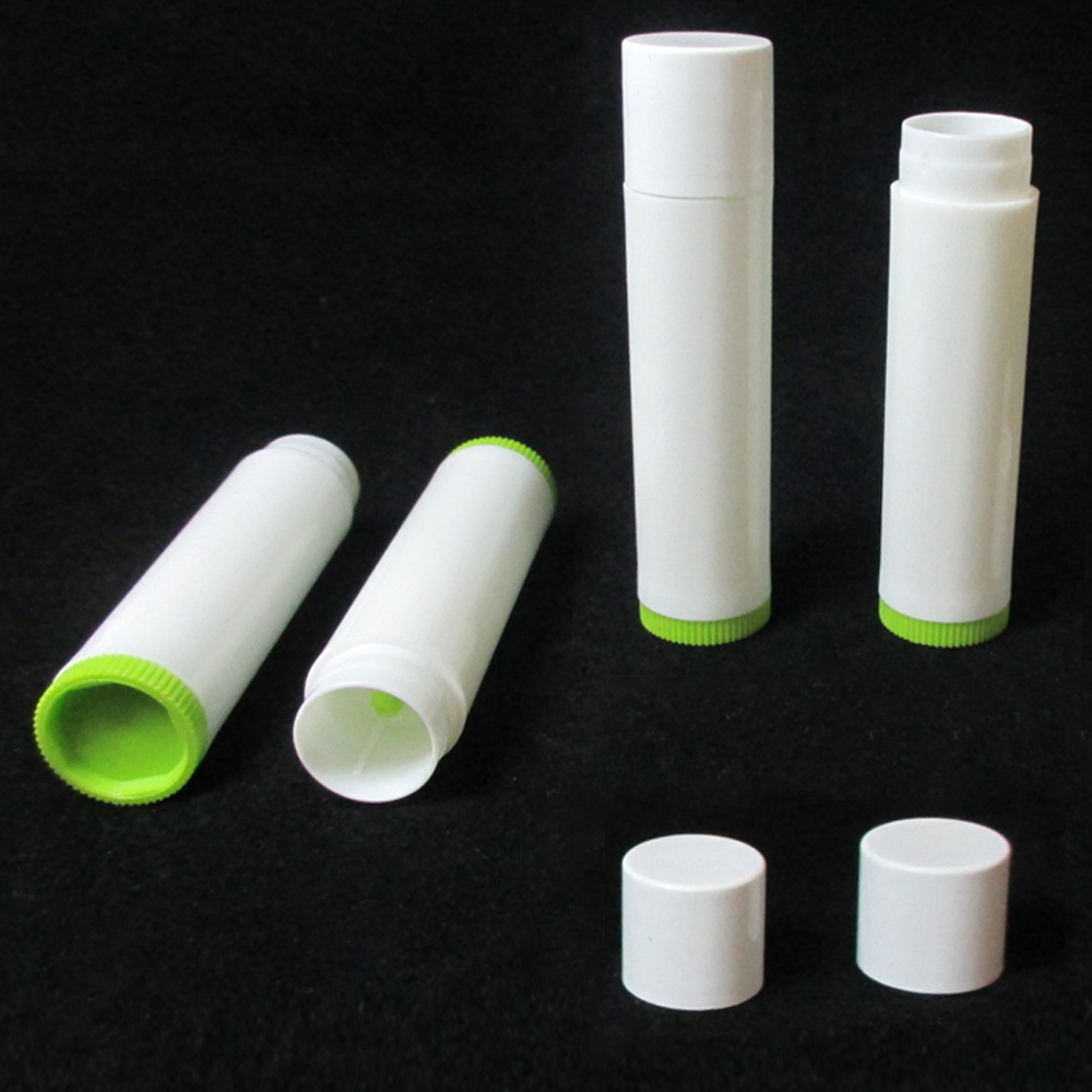 50X Lot Empty Lipstick Lip Balm Container Tube Case Caps Jars Chapstick BPA Free