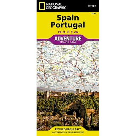 Adventure: spain and portugal - folded map: - Portugal Digital Map