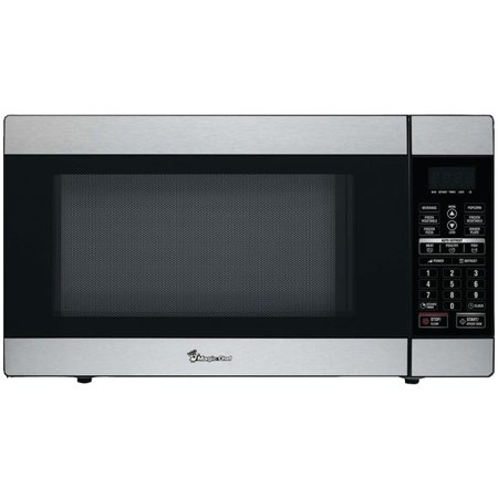 Magic Chef(R) MCD1811ST 1.8 Cubic-ft, 1,100-Watt Stainless Steel Microwave with Digital