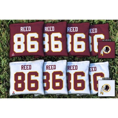 Jordan Reed Washington Redskins Replacement All-Weather Cornhole Bag Set - No Size ()