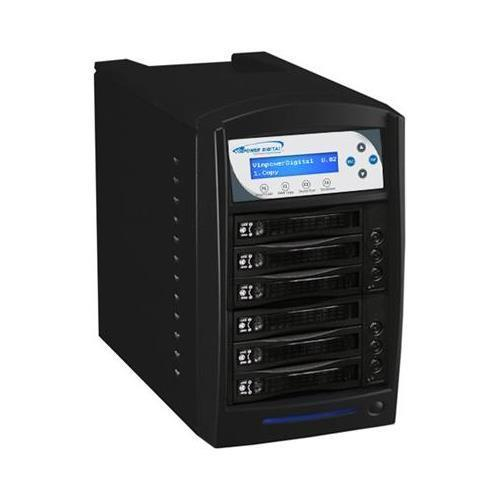 Vinpower Digital HDDSHARK-5T-BK HDD Shark Hard Drive Duplicator - 5 Targets