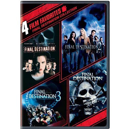 4 Film Favorites: Final Destination 1 - 4 (With $5 VUDU Credit) (Widescreen)