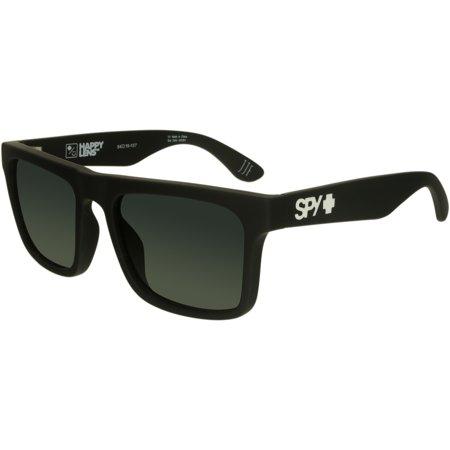 Spy Men's Atlas 673371973863 Black Square (Tron Spy Sunglasses)