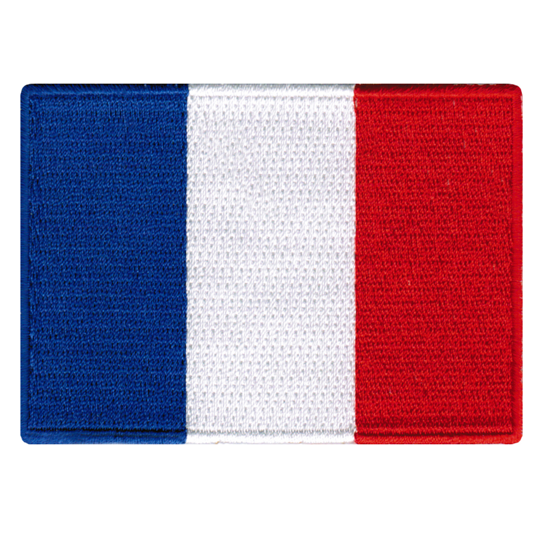 France Flag Embroidered Iron-on Patch