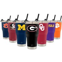 Simple Modern College 30oz Cruiser Tumbler with Straw & Closing Lid - Georgia Bulldogs - 18/8 Stainless Steel Vacuum Insulated NCAA University Cup Mug