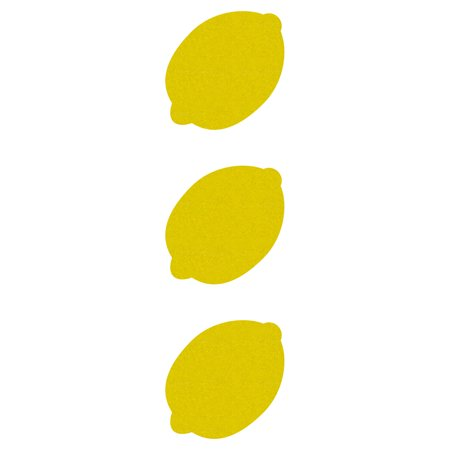 LiteMark Reflective Hard Hat Stickers - 2 Inch Lemons - Pack of 3 for $<!---->