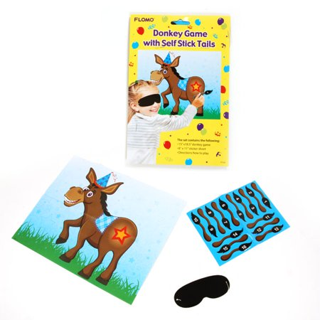 Pin The Tail On The Donkey Game Set/Case of 36