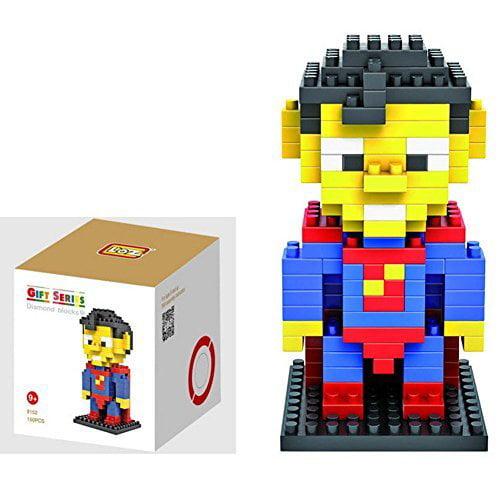 ZOZ Diamond Blocks Nanoblock the Avengers Superman Educational Toy 150pcs By LOZ by