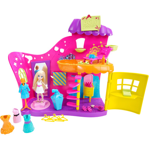 Polly Pocket Color Change Makeover Salon Playset