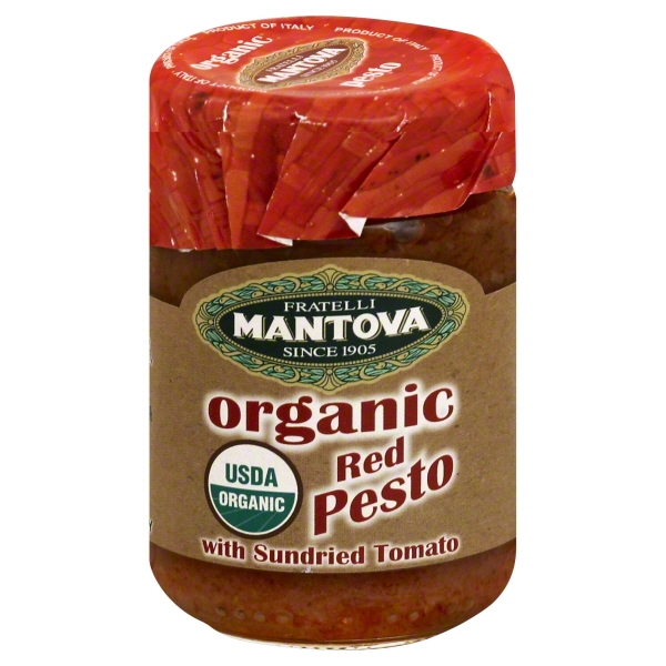 Fine Italian Food Mantova  Pesto, 4.6 oz