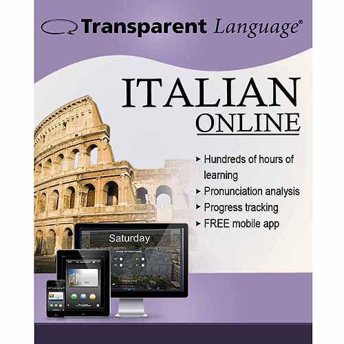 Transparent Language Online Italian (12 Month) (Digital Code)