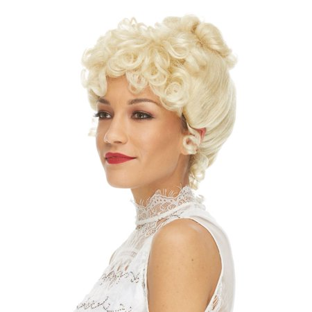 Characters Gibson Girl Synthetic Wig -