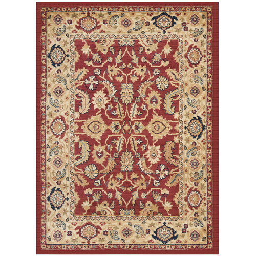 Safavieh Austin Red/Creme Area Rug