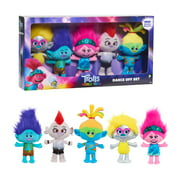 Trolls World Tour Dance Off Plush Set, 5 pieces, Plush Basic, Ages 3 Up, by Just Play