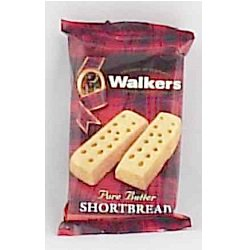 Walkers 2 Finger Shortbread Pack of 4 - Shortbread Fingers Recipe Halloween