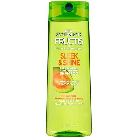 Garnier Fructis Sleek & Shine Shampoo for Dry & Frizzy Hair, 13 Fl (Best Shampoo For Thin Dry Frizzy Hair)