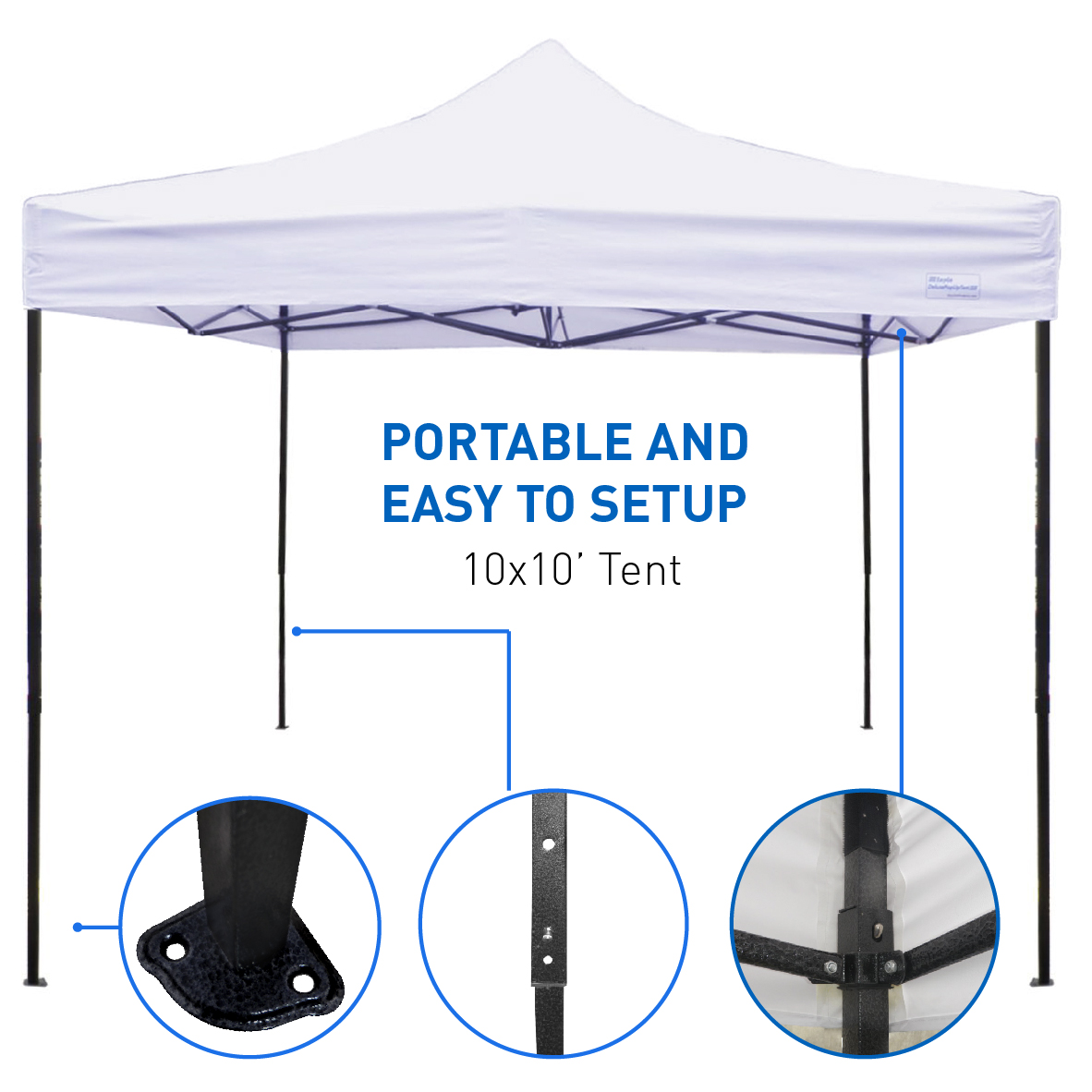 Best Selling 10 x10 Tent - Deluxe Instant Easy Pop-Up Frame - Outdoor  sc 1 st  Zodys & Zodys