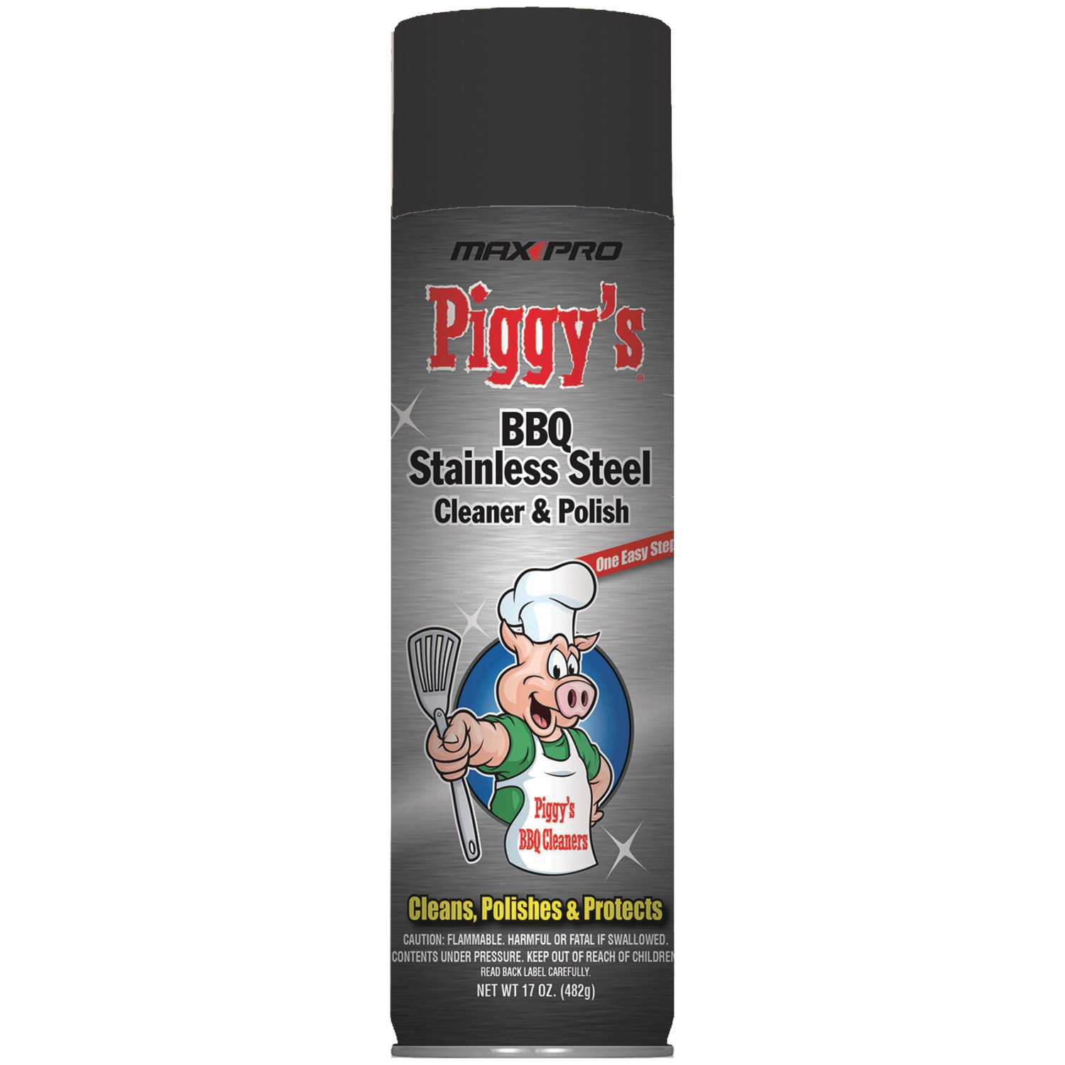 Max Pro PBSS-3668 BBQ Stainless Steel Cleaner, 17oz