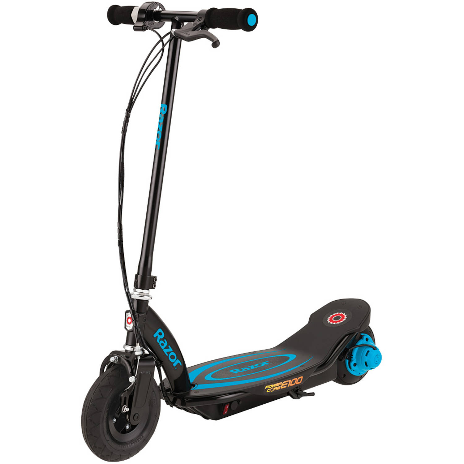 razor power core e100 electric scooter efficient light