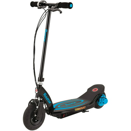 Razor Power Core E100 Electric Scooter with Rear Wheel Drive (Girls Purple Electric Scooter)