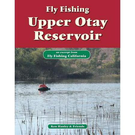 Reservoir Fishing Map - Fly Fishing Upper Otay Reservoir - eBook