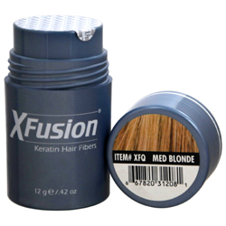 XFUSION by X-Fusion - KERATIN HAIR FIBERS MEDIUM BLONDE .42OZ - UNISEX