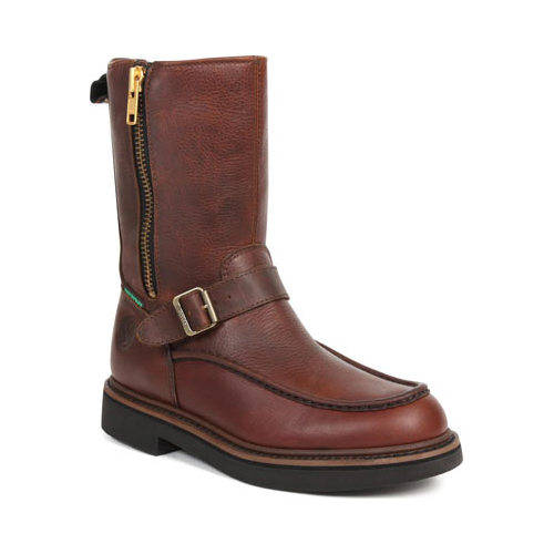 Men's Georgia Boot G41 Waterproof Side Zip Moc Toe Wellington
