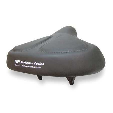 WORKSMAN 6911v Bicycle Seat 13 In. Extra Wide (Adult Banana Seat Bicycle)