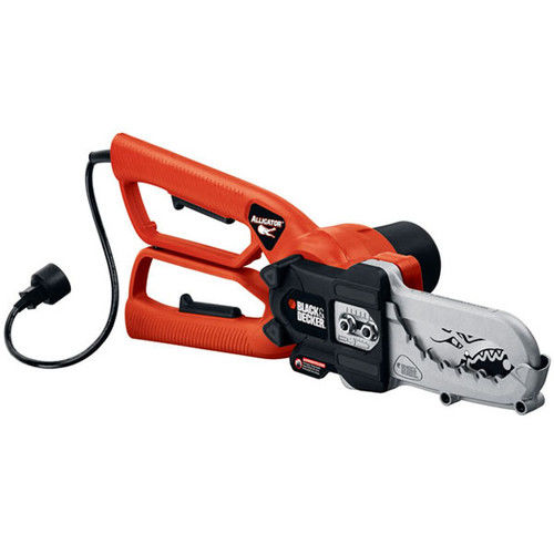 Click here to buy Black & Decker LP1000 4.5 Amp Corded Alligator Lopper Chain Saw by Stanley Black & Decker.